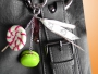 Bijoux de sac Macarons et Sucre d'Orge
