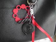 Bijoux de sac rouge Réglisse