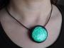 Collier émaux Turquoise