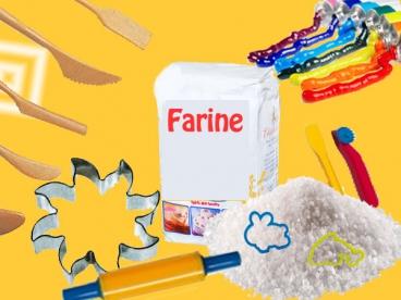 2 h 00 - Atelier Pâte à sel  pour adulte