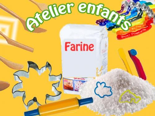 2 h - Atelier Pâte à sel pour enfant
