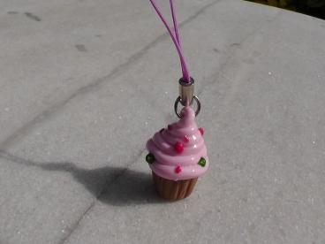 Bijoux de téléphone cup cake