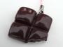 Bijoux de téléphone chocolat croqué scrap rose